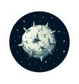 Dangerous asteroid vector