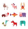 Animal icons 8 vector