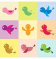 Bird group vector