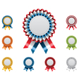 Award badges set vector