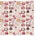 Women handbags seamless pattern vector