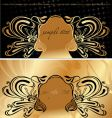 Vintage cover background vector