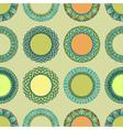 Seamless vintage hand drawn pattern vector