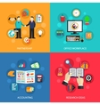 Business office work concept vector