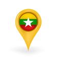 Location myanmar vector