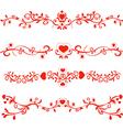 Patterns valentines vector
