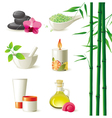 Highly detailed spa icons set vector