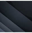 Abstract dark gray paper rectangle shapes vector