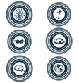 Nautical labels vector