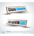 Clouds computing 3d vector