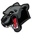 Black panther mascot vector