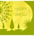 Happy diwali festival vector