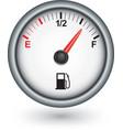 Car fuel gauge vector