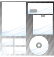 Corporate abstract wave templates vector