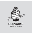 Image of cupcake vector
