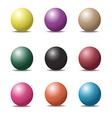Ball set 1 vector