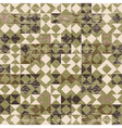 Aged geometric background vector
