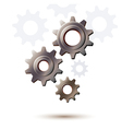 Machine gear wheel cogwheel icon vector