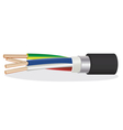 Copper cable vector
