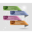 Infographics template design eps10 vector