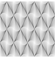 Design seamless diamond geometric pattern vector