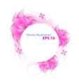 Romantic flower background vector