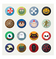 Nice detail and easily identifiable icons set vector