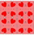 Design seamless swirl movement stripy pattern vector