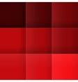 Abstract red squares background vector