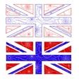 Uk flags vector