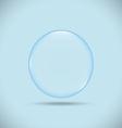 Blue bubble vector
