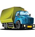 Rubbish truck vector