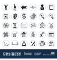 Business shopping vector