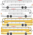 Super double deck bus vector