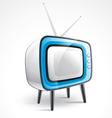 Antique television vector