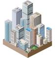 High-rise home vector