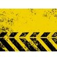 Hazard stripe vector