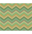 Cute ethnic autumn knitted abstract geometric vector