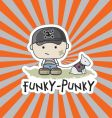 Funky-punkie vector
