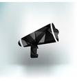 Speaker icon broadcasting speak isolated scream vector