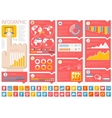 It industry infographic elements vector