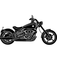 Motorcycle package - detailed vector