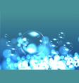 Bubble soap background vector