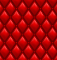 Red leather background vector