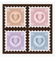 Old stamps vector