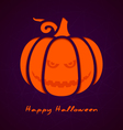 Halloween greeting card eps10 vector