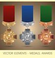 Elements - medals awards vector