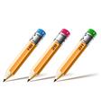 Pensil set vector