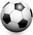 Soccer game ball vector