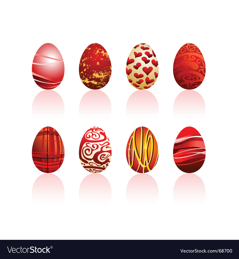 Eggs easter vector | Price: 1 Credit (USD $1)
